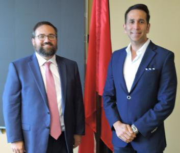AG meets with U S  Embassy Deputy Chief of Mission | Trinidad and