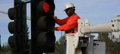 Traffic light hook up