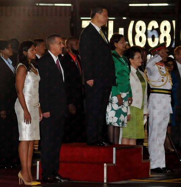 Anthony Carmona The arrival of HE Xi Jinping President of the Peoples Republic